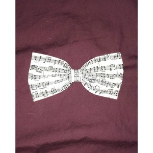 Other - music note hair bow